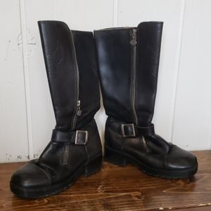 womens harley davidson boots size 8